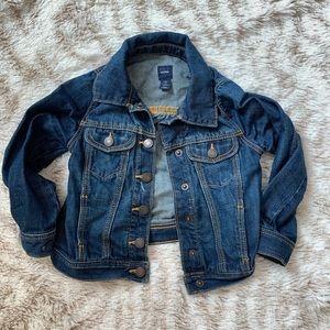 Gap kids Girls toddler Jean denim jacket size 4